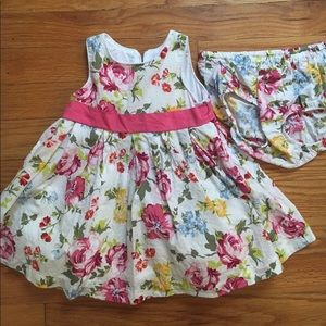 Children's place 6-9 month dress with bloomers